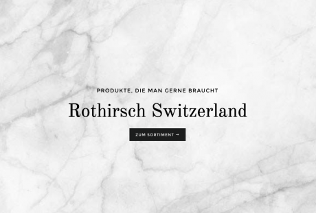 Rothirsch Switzerland