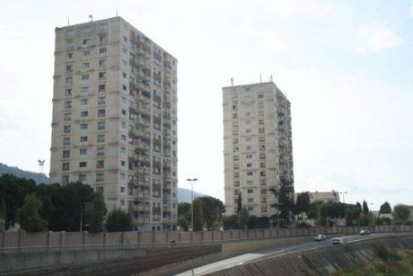 urban ghettos