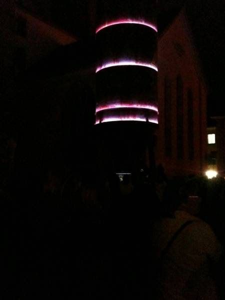 eröffnung lichttage winterthur (kirchplatz)