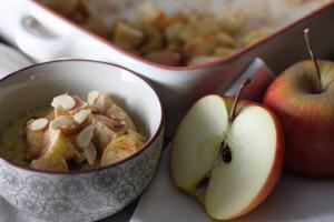 Ayurveda Frühstück mit Bratapfel: für ein wohlig warmes Bauchgefühl am Morgen
