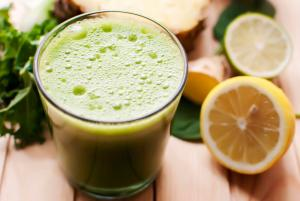 Green Detox Smoothie: - Immunboost & Kraftstofftank
