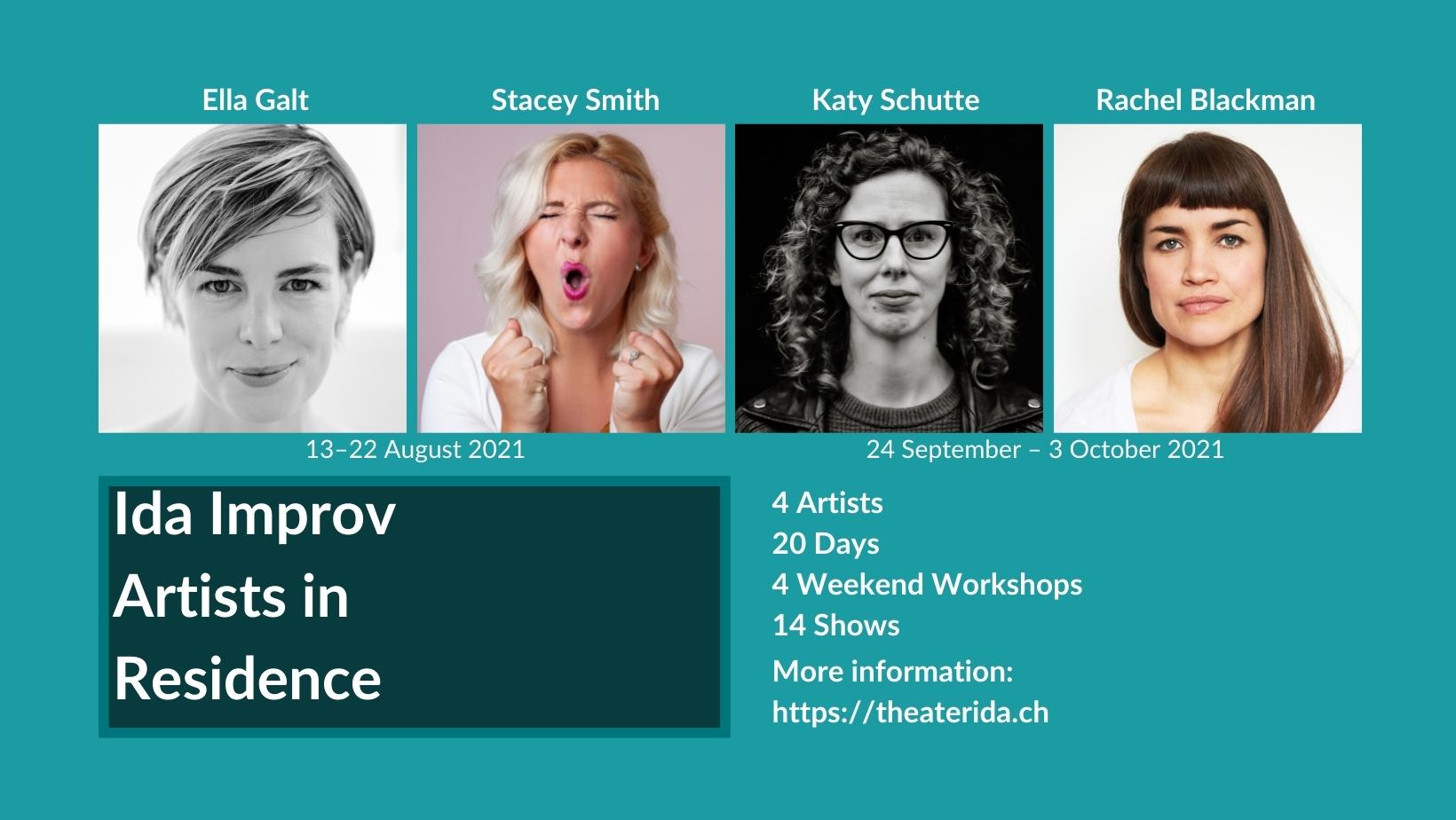 Ida Improv Artists in Residenc